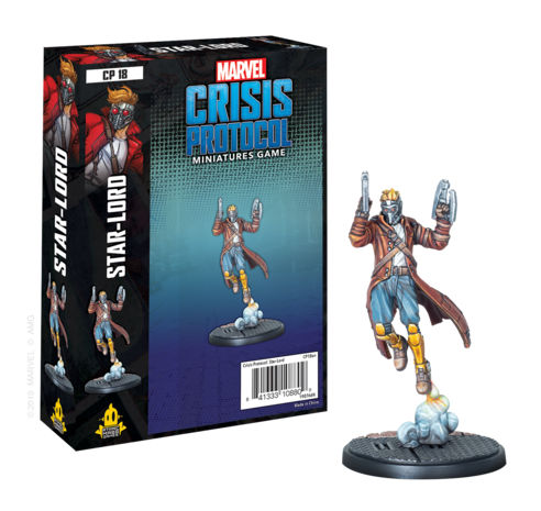 Marvel Crisis Protocol Miniatures Game Starlord Expansion - Ozzie Collectables