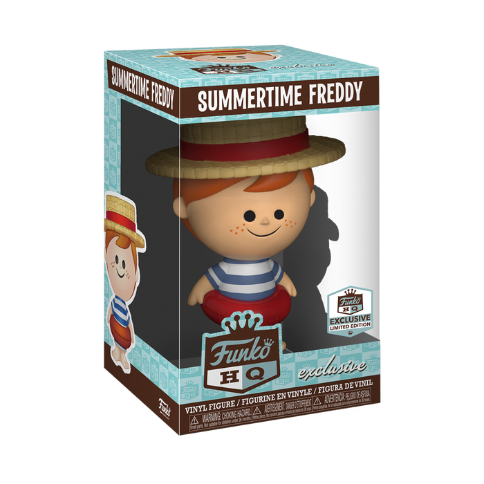 Summertime Freddy - Summertime Freddy Funko HQ Exclusive Vinyl Figures