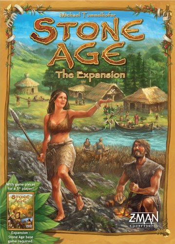 Stone Age The Expansion - Ozzie Collectables