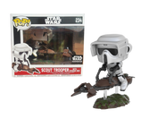 Scout Trooper with Speeder Bike - Star Wars Smuggler's Bounty Endor US Exclusive Pop! Vinyl