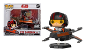 Poe Dameron with X-Wing - Star Wars Smuggler's Bounty The Last Jedi US Exclusive Pop! Vinyl