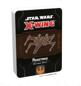Star Wars X-Wing 2nd Edition Resistance Damage Deck - Ozzie Collectables
