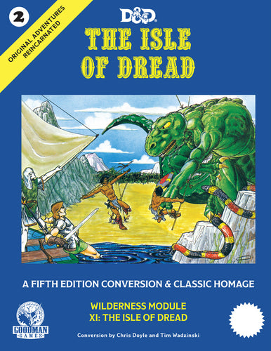 Original Adventures Reincarnated #2 The Isle of Dread - Ozzie Collectables