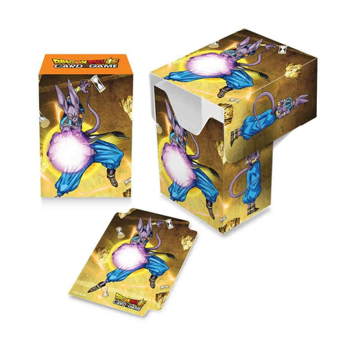 Dragon Ball Super Standard Deck Box Beerus - Ozzie Collectables
