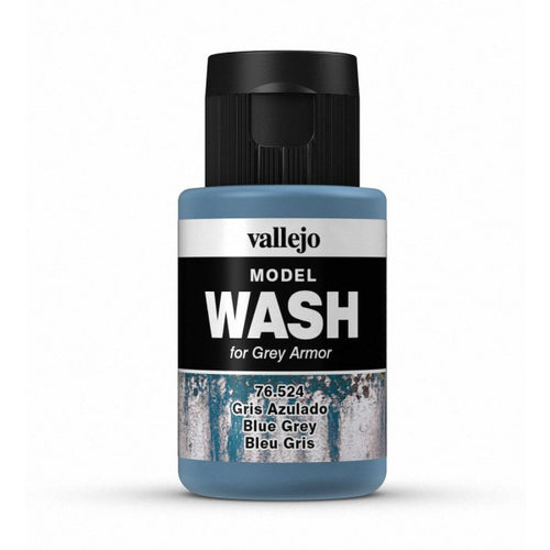 Vallejo Model Wash Blue Grey 35 ml - Ozzie Collectables