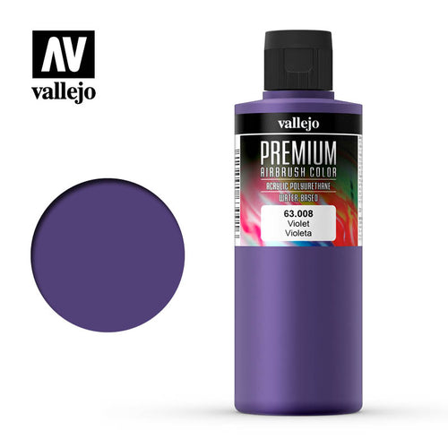 Vallejo Premium Colour Voilet 200ml - Ozzie Collectables
