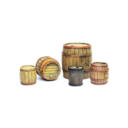 Vallejo Wooden Barrels Diorama Accessory - Ozzie Collectables