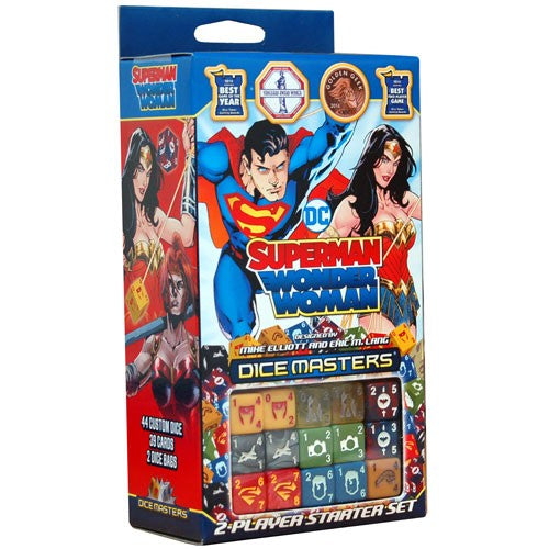 DC Comics Dice Masters Superman and Wonder Woman Starter Set - Ozzie Collectables