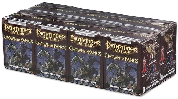 Pathfinder Battles Crown of Fangs Booster BRICK - Ozzie Collectables