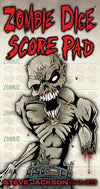 Zombie Dice Score Pad - Ozzie Collectables