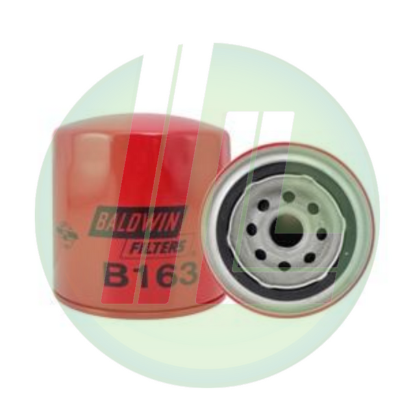 BALDWIN B163 Full-Flow Lube/Transmission Spin-On Fuel Filter