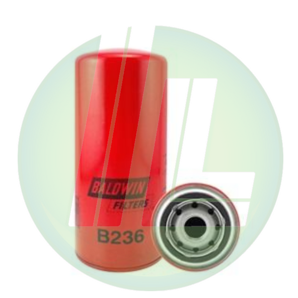 BALDWIN B236 Full-Flow Lube/Hydraulic Spin-On Filter