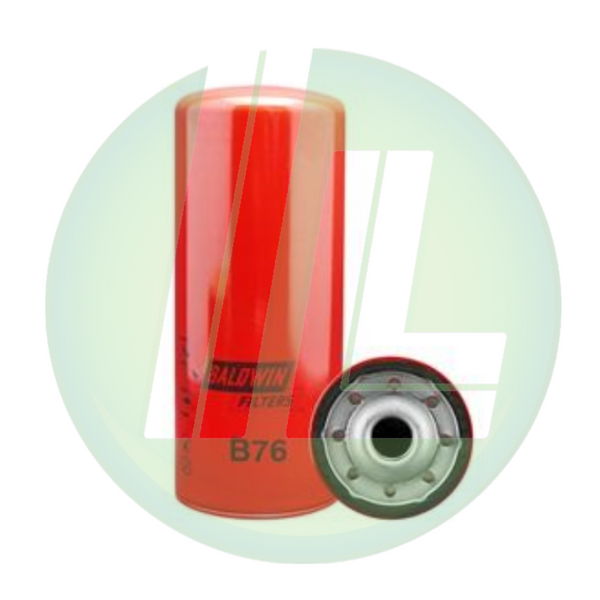 BALDWIN B76 Full-Flow Lube Spin-On Fuel Filter