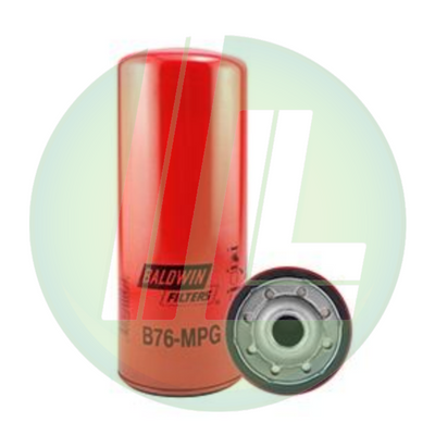 BALDWIN B76-MPG Maximum Performance Glass Full-Flow Lube Spin-On Fuel Filter