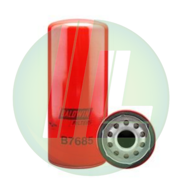 BALDWIN B7685 By-Pass Lube Spin-On Fuel Filter