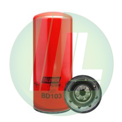 BALDWIN BD103 Dual-Flow Lube Spin-On Filter