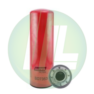 BALDWIN BD7353 Dual-Flow Lube Spin-On Fuel Filter