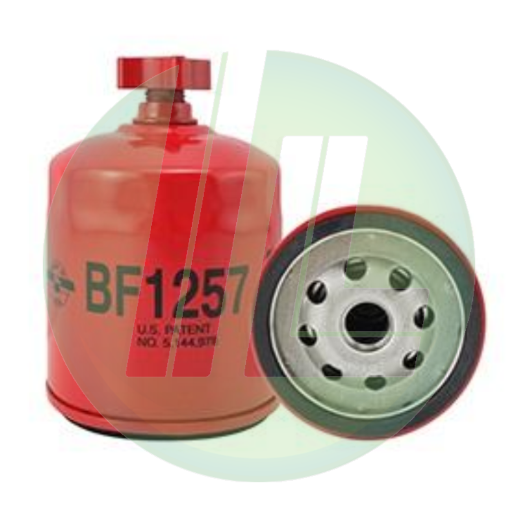 BALDWIN BF1257 HD Fuel/Water Separator Spin-On Filter with Drain for Diesels