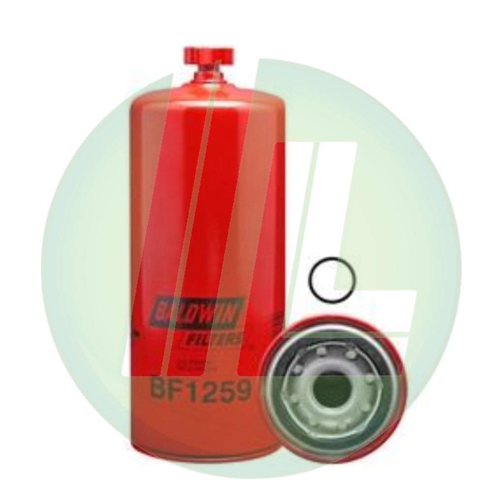 BALDWIN BF1259 Fuel/Water Separator Spin-On Filter with Drain