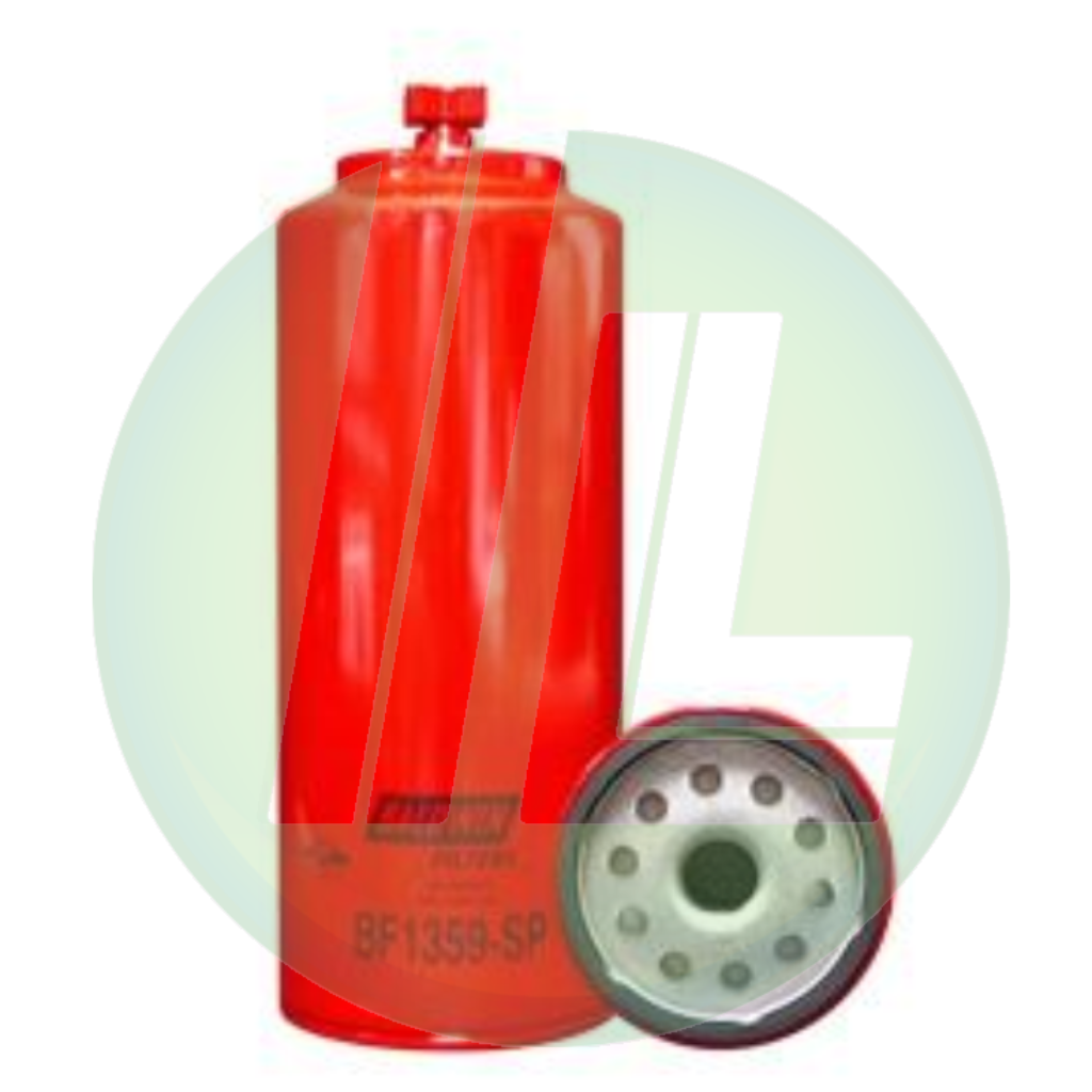 BALDWIN BF1359-SP Fuel/Water Separator with Drain, Sensor Port, Spin-On Fuel Filter for Diesels