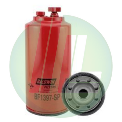 Fuel Water Separator Filter >> Baldwin Bf1397 Sp Fuel Water Separator With Drain Sensor Port Spin On Fuel Filter For Diesels