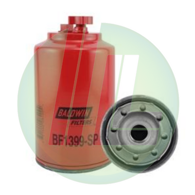 BALDWIN BF1399-SP Fuel/Water Separator with Drain, Sensor Port; Spin-On Fuel Filter for Diesels