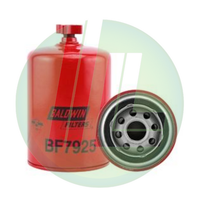 BALDWIN BF7925 Fuel/Water Separator with Drain, Spin-On Fuel Filter for Diesels