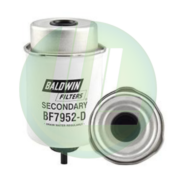 BALDWIN BF7952-D Secondary Fuel/Water Separator Filter Element with Removable Drain for Diesels