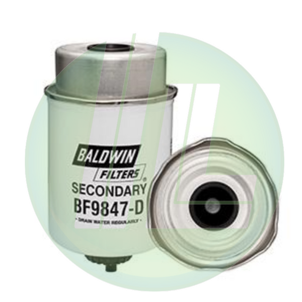 BALDWIN BF9847-D Secondary Fuel Filter Element with Drain