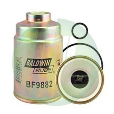 BALDWIN BF9882 Fuel/Water Separator Fuel Filter with Open Port
