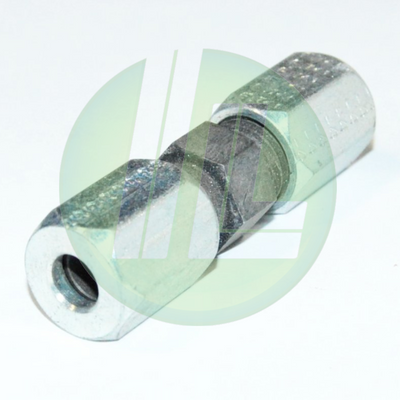 Eaton Weatherhead 7305X4 Small Hex Compression Union Steel Flareless Connector - Ermeto Connections
