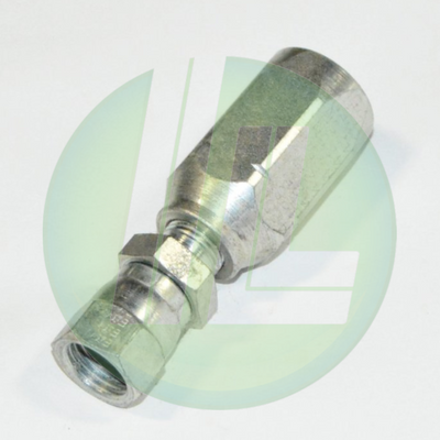 Eaton Weatherhead 42506N-606 Reusable High Pressure Hydraulic Female Swivel Fitting End Assembly for 3/8