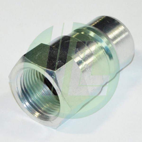 Eaton Weatherhead 5602-16-16S Hydraulic Fluid Transfer Male Coupler - 5600 Interchange Series