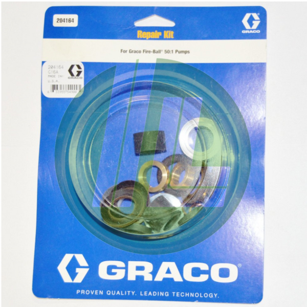 Graco 204164 Spare/Repair Parts Kit for Fireball 50:1 Pumps