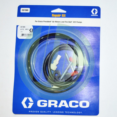 Graco 207385 President Air Motor Repair Kit for Fire-Ball Pumps