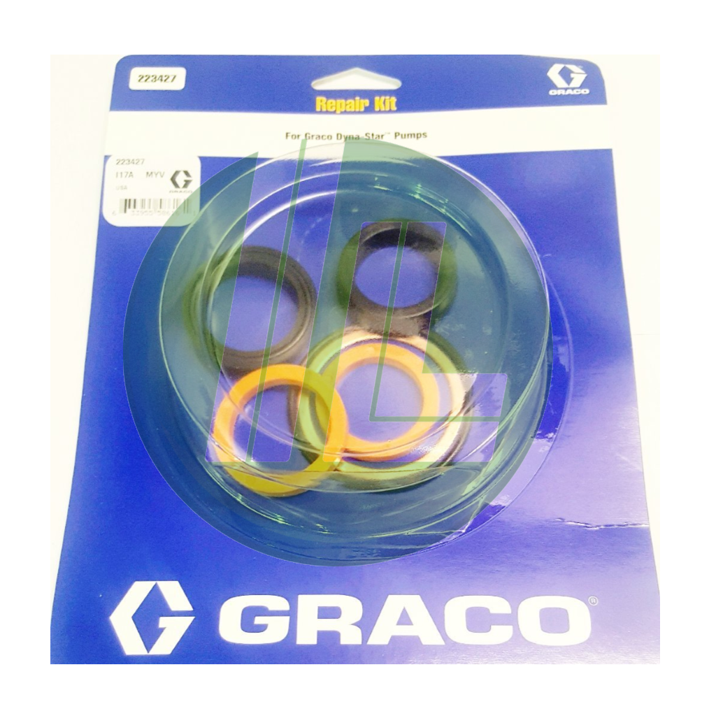 Graco 223427  Repair Kit for Dyna-Star Hydraulic Reciprocator and Pump