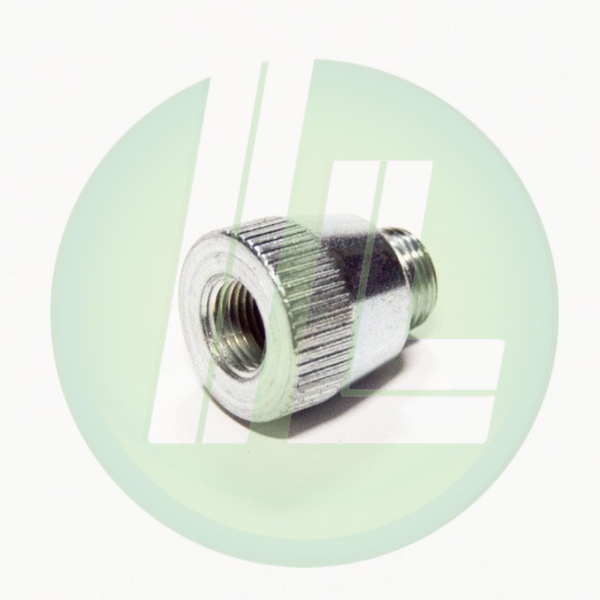 "Lincoln Industrial 10460 Grease Adapter Coupling - 1/8"" x 7/16"" -27 Thread"