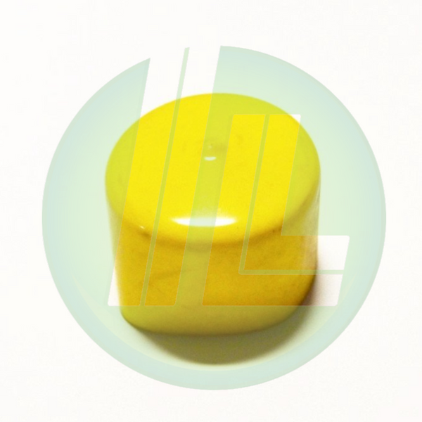 Lincoln Industrial 246898 Yellow Cap for Ball Pump Tubes