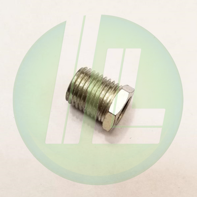 "Lincoln Industrial 10461 Hex Bushing 1/8"" NPT (f) x 1/4"" NPT (m) Lubrication Tools Accessories"