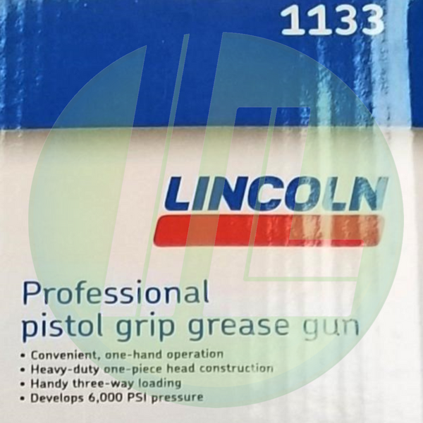 Lincoln Industrial 1133 Manual Professional Pistol Grip Grease Gun