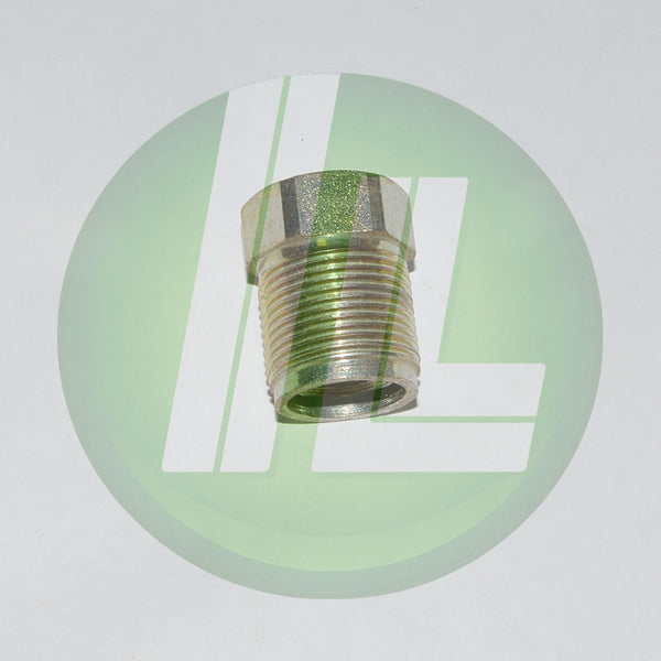 "Lincoln Industrial 11396 Coupling Nut - 3/8"" NPTF Inlet"
