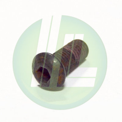 "Lincoln Industrial 252877 Button Head Screw 1/4"" x 1/2"" for FlowMaster Rotary Driven Electric Pump"