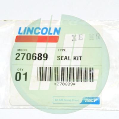 Lincoln Industrial 270689 Seal Repair Kit (Nitrile) for FlowMaster Hydraulic Pumps