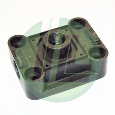 "Lincoln Industrial 273051 Air Valve Body for Air Valve Assembly on ½"" Non-Metallic Air-Operated Double Diaphragm Pumps"