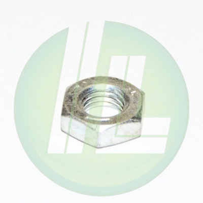 Lincoln Industrial 51009 1/4-28 Hex Nut Replacement for Railroad Wayside Lubricators - RR Service Equipment Part