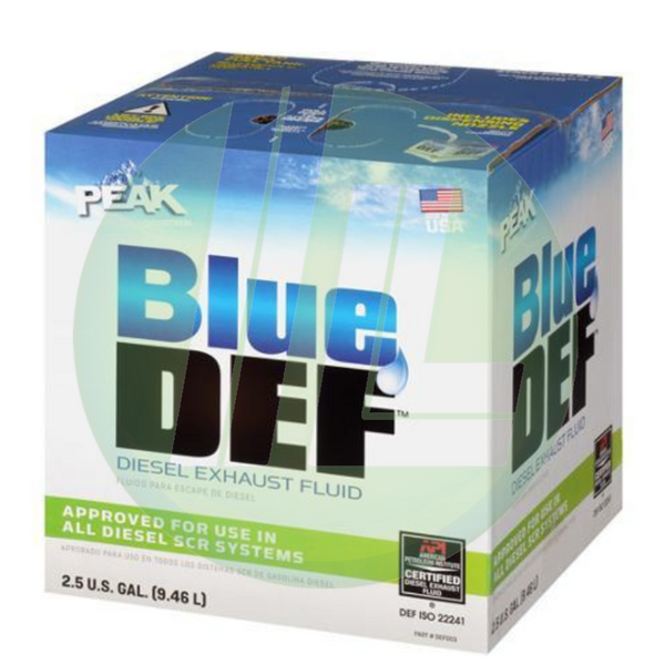 PEAK Blue DEF Diesel Exhaust Fluid - 2.5 Gallon
