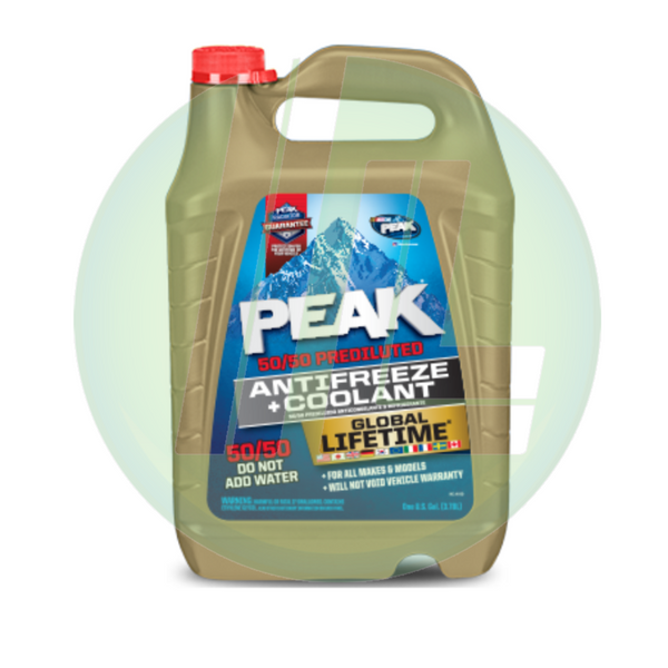 PEAK Global Lifetime 50/50 Pre-Diluted Concentrate Anti-Freeze + Coolant - Case