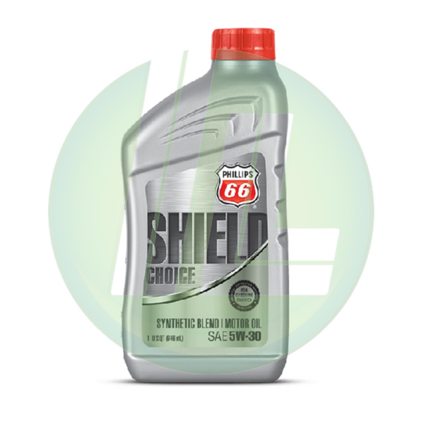 PHILLIPS 66 Shield Choice Synthetic Blend 5W-30 Motor Oil - Case