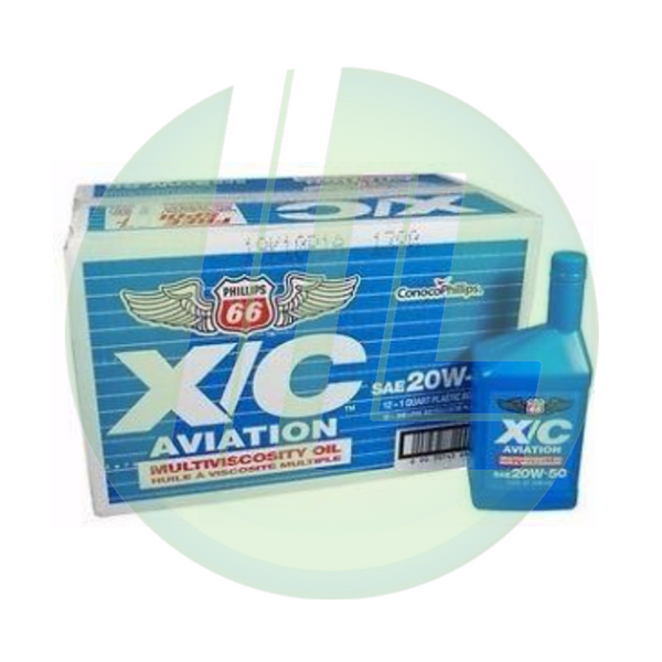 PHILLIPS 66 X/C Aviation Oil - Pack