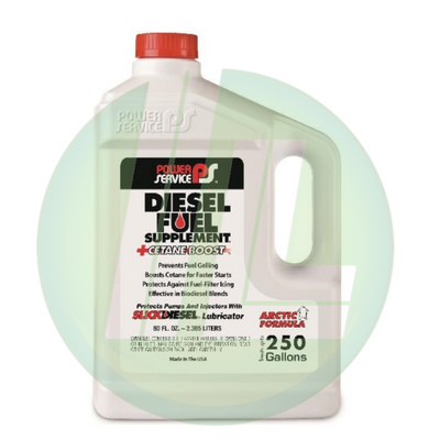 POWER SERVICE Diesel Fuel Supplement + Octane Boost 80 fl. oz. - Case